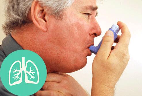 Asthma S16 Man Inhaler